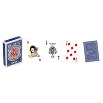 speelkaarten Magic Byke Regular karton blauw 55-delig