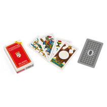 speelkaarten Piacentine Extra karton rood 40-delig