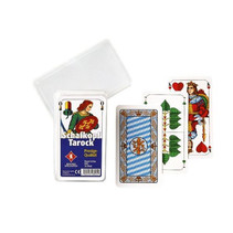 speelkaarten Shafkopf Tarock karton groen 36-delig