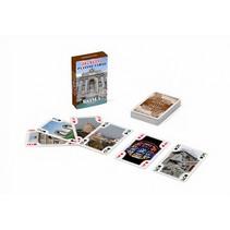 speelkaarten Roma karton bruin 56-delig