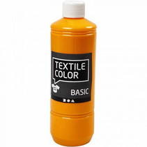 textielverf Basic 500ml okergeel