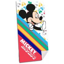 strandhanddoek Mickey Mouse 140 cm polyester