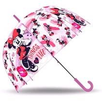 paraplu Minnie Mouse meisjes 70 cm polyester roze