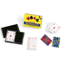 kaartspel Burraco 6,3 x 8,8 cm PVC geel 110 stuks