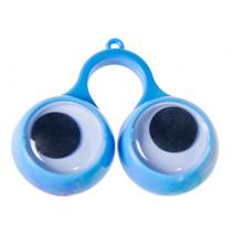 speelgoedring ogen junior 5,5 x 4 cm blauw