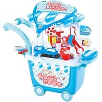 Dokter speelgoed trolley 25-delig