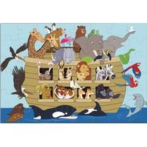 vloerpuzzel Ark van Noach 48 stukjes