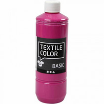 textielverf Basic 500ml roze