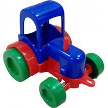 tractor junior 8 cm multicolor groen/blauw