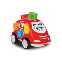 vormendoos auto rood junior 21 cm