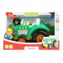 tractor groen 23 cm