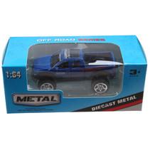 truck Off Road jongens 13 cm die-cast blauw