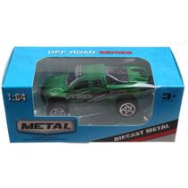 jeep Off Road jongens 13 cm die-cast groen