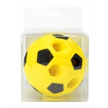 voetbal met licht geel 9,5 cm