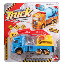 hijskraan Truck Engineering jongens 20 cm blauw