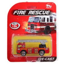 hoogwerker Fire Rescue jongens 14 cm die-cast rood