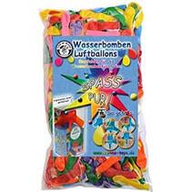 waterballonnen Spass junior rubber 250 stuks