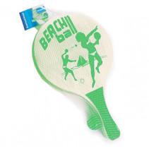 beachballset 38 x 24 cm hout groen 3-delig