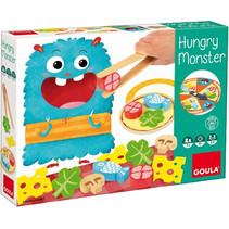 kinderspel Hungry Monster junior hout/vilt 27-delig