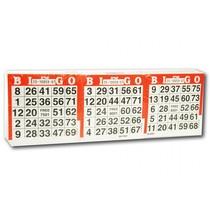 bingokaarten 1500 vellen