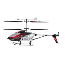 Helicopter 2,4 GHz zwart/rood 25x29x15 cm