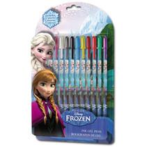 gelpennen Frozen meisjes 12-delig