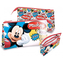 etui Mickey Mouse junior 22 cm polyester/PVC rood