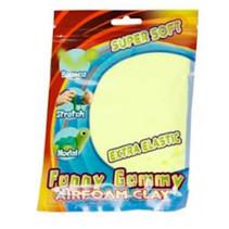 klei Gummy Airfoam junior 55 gram geel
