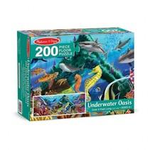 vloerpuzzel Underwater Oasis 200 stukjes
