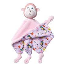 knuffeldoekje aap junior 27,9 cm pluche/rubber