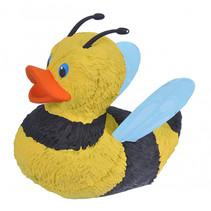 badeend honingbij junior 10 cm geel/bruin