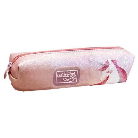 Unicorn etui Eenhoorn 20 x 4,5 cm polyester/synthetisch roze