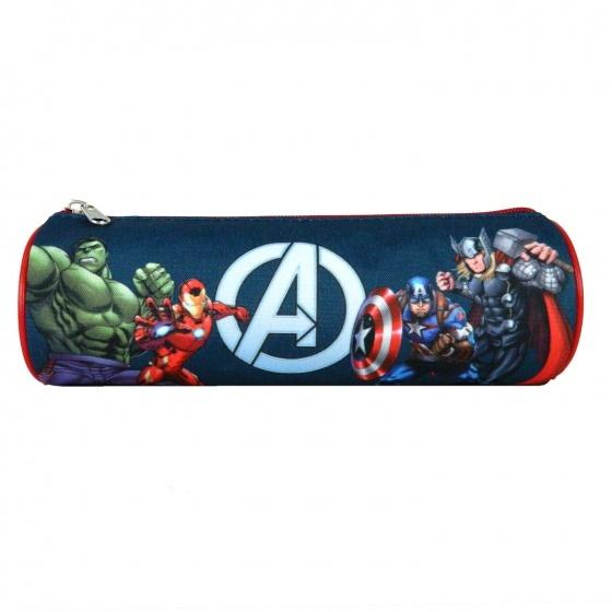 Marvel etui The Avengers 22 x 7 cm donkerblauw