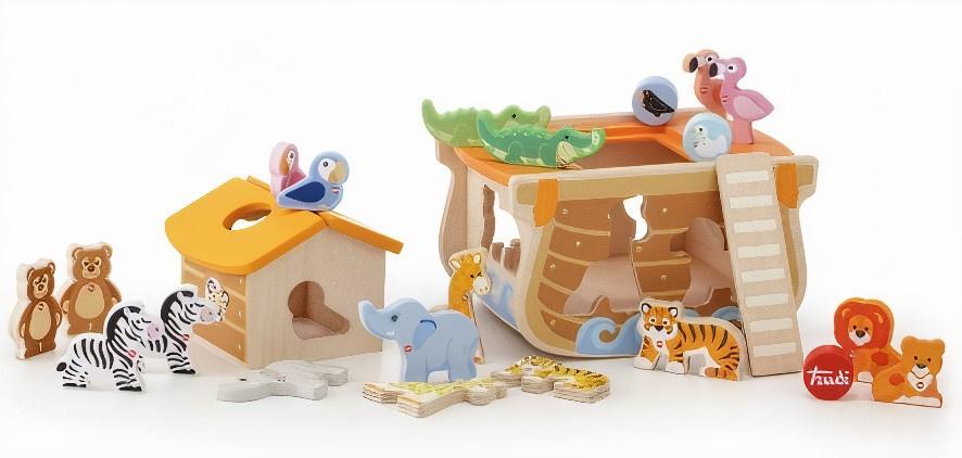 Sevi constructieset Ark van Noach junior 24-delig