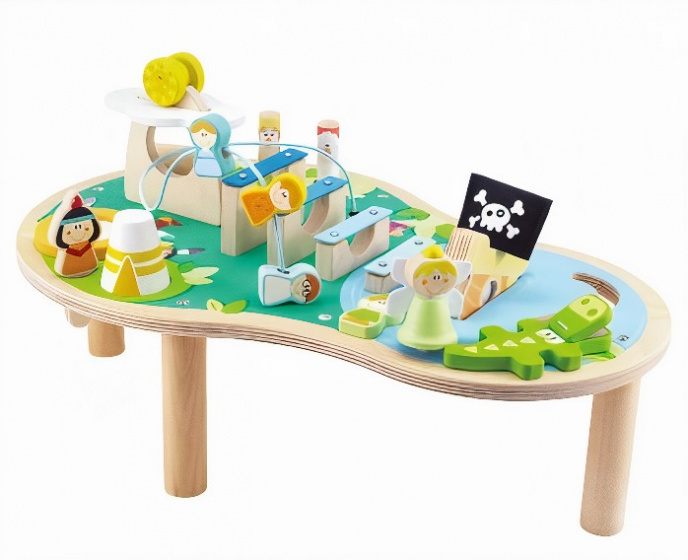 Sevi muziektafel Magic Island 56 cm hout 16-delig