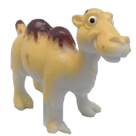 Wild Republic speeldier kameel junior 6 cm geel/bruinruin