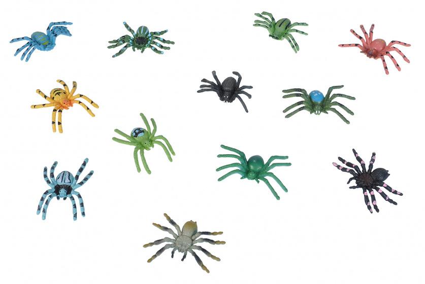 Wild Republic speelset spinnen junior 12-delig