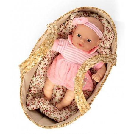 Mini Mommy reiswieg Mozes riet 38 cm