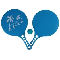 beachball-set Beach Fun 3-delig blauw