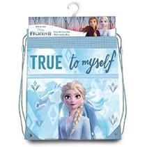 schooltas Frozen II meisjes 42 cm polyester blauw