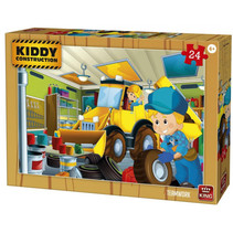 legpuzzel Kiddy Construction junior 24 stukjes