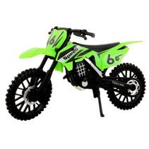 crossmotor 17 cm jongens 1:12 groen