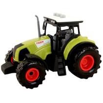 tractor Farm led jongens 14 cm groen/zwart