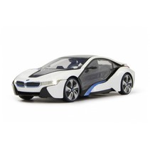 RC BMW I8 jongens 1:24 27 MHz wit
