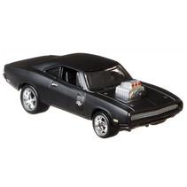 auto '70 Dodge Charger R/T junior 8 cm staal zwart