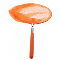 schepnet uitschuifbaar oranje