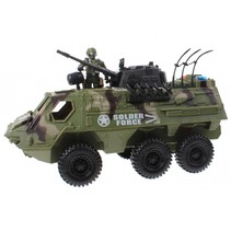 speelset Army special forces amfibie groen 3-delig
