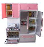 Toi-Toys tienerpopkeuken met licht en geluid 30 cm roze