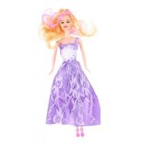 tienerpop Sophie met extra kleding 30 cm paars