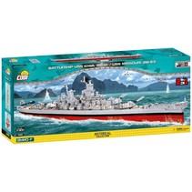 Historical bouwpakket Pancernik USS Iowa 2410-delig 4812